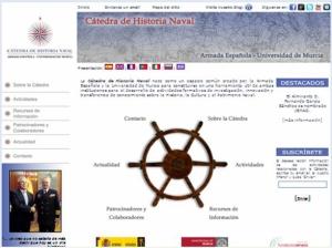 web Catedra Historia Naval