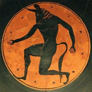 El minotauro de la civilización cretense
