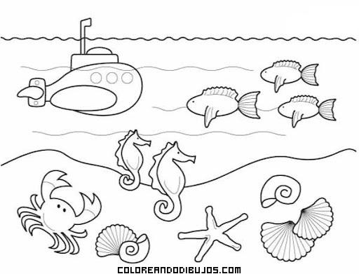 Dibujo De Paisaje Marino Para Colorear: Blog Cátedra De Historia Y Patrimonio Naval