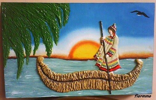 Lago titicaca para colorear - Imagui