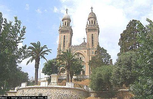 La catedral de San Agustín de Hipona (Annaba)