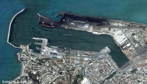 Vista actual de su puerto marítimo