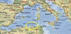 Hipona en el Mediteraneo