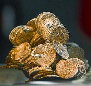 Las monedas del tesoro de la fragata Mercedes