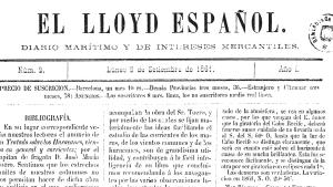 portada de el lloyd español II
