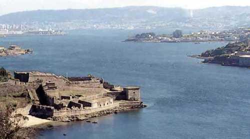 Imagen del puerto de Ferrol