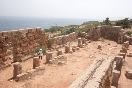 Restos de la Basílica de Santa Salsa