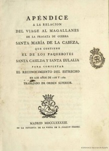 BDH Portada libro Magallanes II