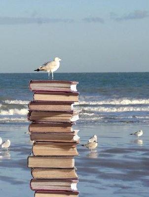 libros y mar