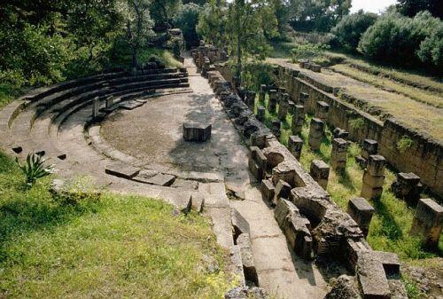 Teatro romano de Tipasa