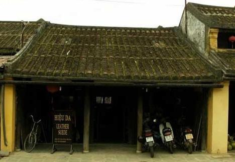 Casa de la zona antigua de la ciudad