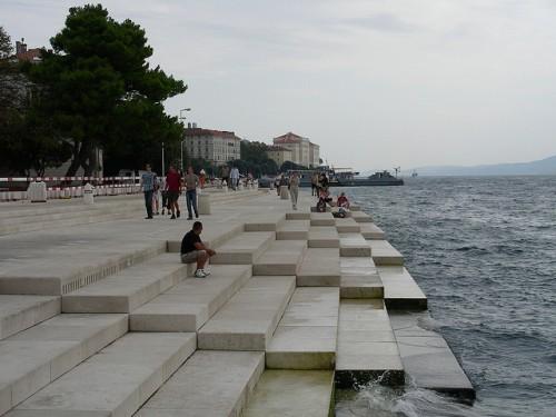 Órgano de Zadar (Croacia)
