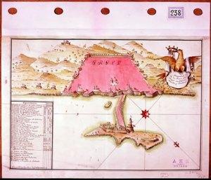 Puerto de Argel. Archivo Histórico Nacional.