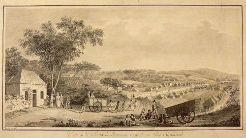 Dibujo de la Colección Malaspina, Archivo del Museo Naval de Madrid.