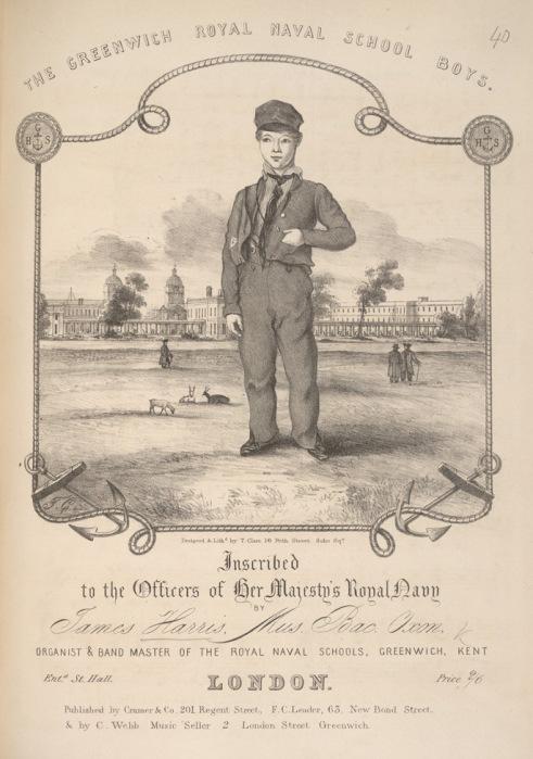 Alumno del Colegio Naval de Greenwich