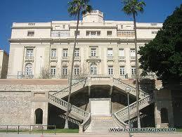 La Escuela de Guadiamarinas del Mediterráneo, situada en Cartagena, que funcionó como centro de formación desde 1776 hasta 1821