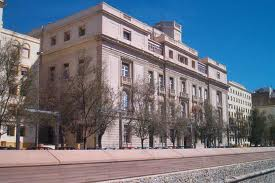 El edificio construido a principios del s. XIX para albergar la Escuela de Guardiamarinas de Cartagena