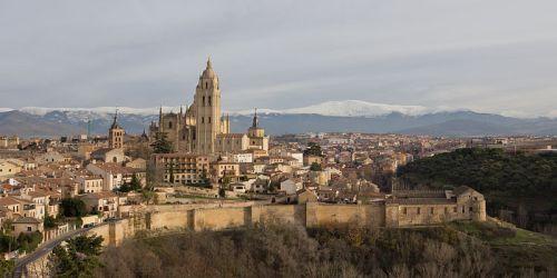 Vista de Segovia, la patria chica de Arriaga, que desde 1985 es Patrimonio de la Humanidad