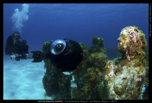 Grabando los fondos marinos y su patrimonio sumergido