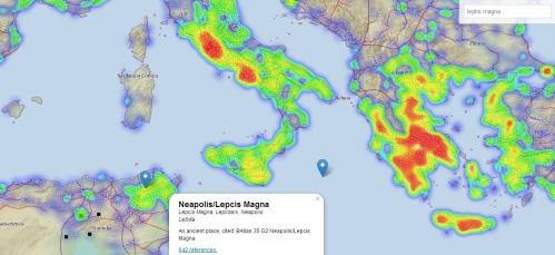 la ciudad africana localizada en el mapa.