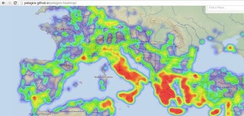 Mapa desde el que se puede buscar cualquier ciudad. Pinchando en esta imagen puede acceder a la herramienta