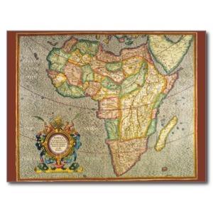 Una carta de Mercator el Viejo en la que aparece Madagascar