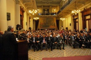 Entrega de los premios Enrique Tomás Cresto en el Senado de la Nación Argentina