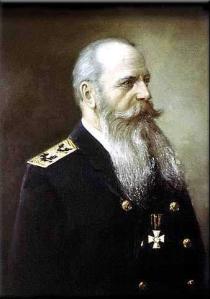 El Vicealmirante Stephan Osipovich Makarov