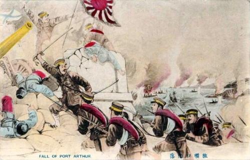 Representación del sitio de Port Arthur
