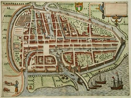 El puerto a fines del S. XVI