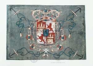 Bandera de Blas de Lezo
