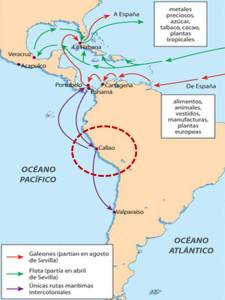 Localización del puerto dentro de las rutas marítimas