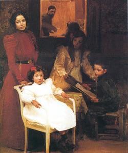 Mi familia   (1901, Ayuntamiento de Valencia)