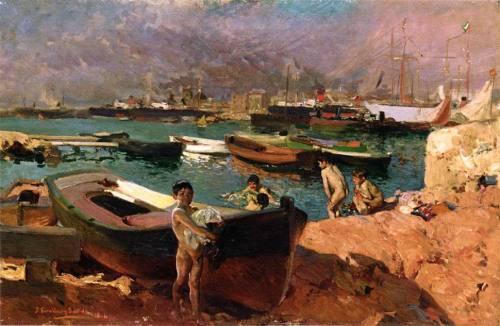 Puerto de Valencia  (colección privada)