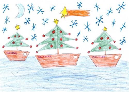 navidad en el mar. Lucia-Sanchez-Jimenez-624x445
