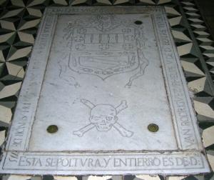 Lápida de Amaro Pargo