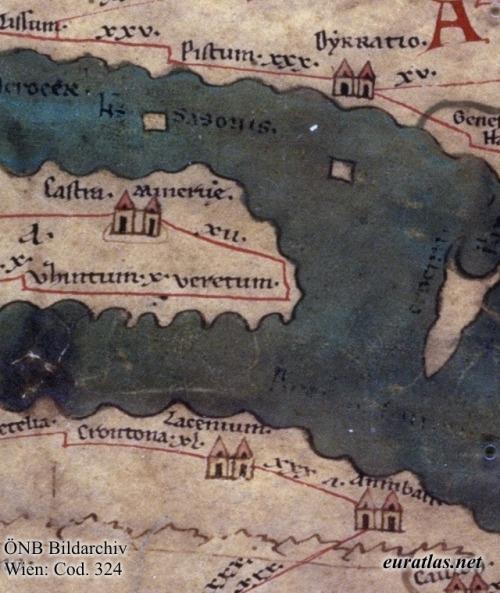 Del segmento anterior se extrae otra división, que contiene parte de Albania, y Corfú