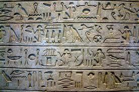escritura egipcia