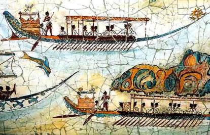 Barcos minoicos
