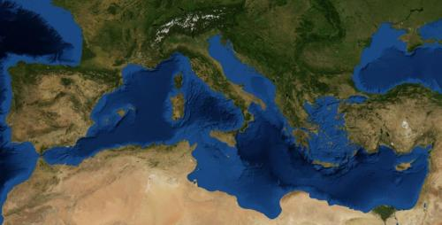 El Mar Mediterráneo en la actualidad