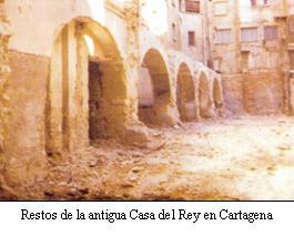 Restos antigua Case del Rey
