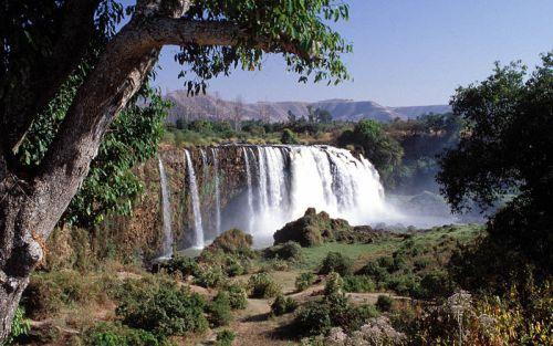 El río Nilo en su paso por Etiopía