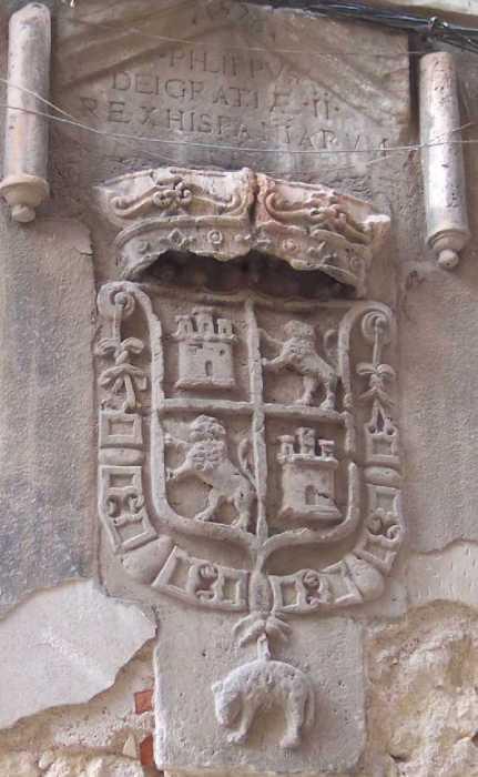Escudo de la Calle Intendencia
