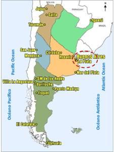 La Plata en Argentina