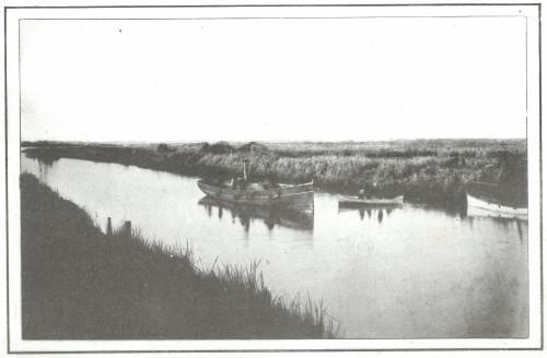 Vista de uno de los canales