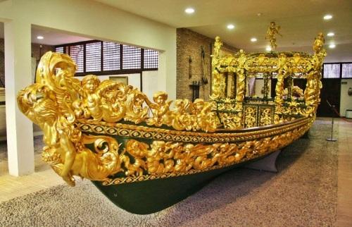 Falúa Real del Museo de Aranjuez.