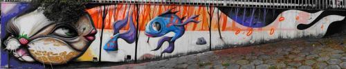 Ilustración 7.Graffiti de Dalata (Dms) en Belo horizonte