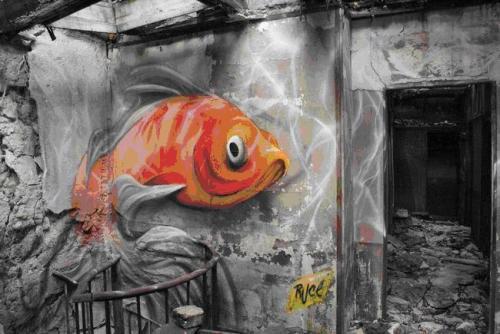 Ilustración 9. Graffiti de Ruce, París.