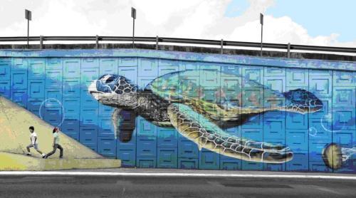 Ilustración 13. Graffiti del Duo Tag (Tampico)