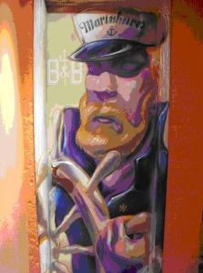 Grafiti de Valdi Valdi (Brasil)